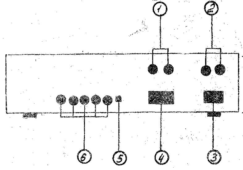 1 — розетки АС1 для